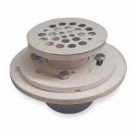 Sim Supply Shower Drains,Dia. 2  to 3 ,Round,PVC  133-114 - 1