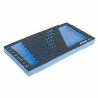 Westward Black/Blue,Tool Storage Foam Inserts,EVA  6ZGT0 - 1