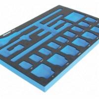 Westward Black/Blue,Tool Storage Foam Inserts,EVA  6ZGU5 - 1