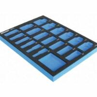 Westward Black/Blue,Tool Storage Foam Inserts,EVA  6ZGV2 - 1