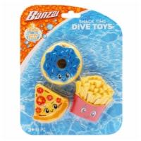Banzai Snack Time Dive Toys