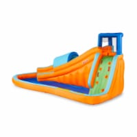 Banzai Surf Rider Kids Inflatable Backyard Outdoor Aqua Water Slide Splash Park