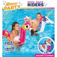 Banzai Pool Party Pool Racers Riders