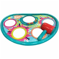 Banzai Whopper Bopper 92x60 Inch Inflatable Pool Float Game Mat and Mallet Toy
