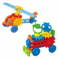playgo 2022 Little Engineer Helicopter, Animal Caravan Truck