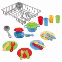 playgo 3119 Dish Drainer & Kitchenware - 23 Piece