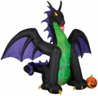 Gemmy Animated Projection Airblown-Fire & Ice-Dragon with Wings - 1 ct