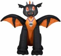 Gemmy Airblown Winged Dragon - Black/Orange