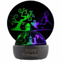 Gemmy Halloween Tabletop Shadow Light Decor