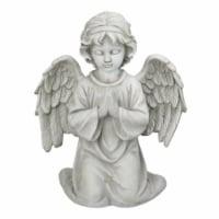 Northlight 33377763 15 in. Kneeling in Prayer Cherub Outdoor Garden Statue