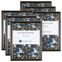 Picture Frame Set, 8.5x11 Document Frames Pack For Picture Gallery Wall  and Hanging Hooks, - 1 unit