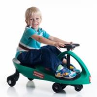 Lil Rider M370014 Ambulance Car Ride on Wiggle Car by Lil for Boys & Girls, Green & Black - 1