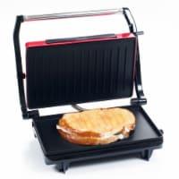 Gourmet Healthy Non-Stick Grill and Panini Press - 1 unit