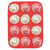 Silicone Cupcake Muffin Pan Tin Nonstick Baking Tray Dishwasher Safe BPA Free