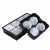Chef Buddy Black Ice Cube Tray - Pack of 2 - 1 unit
