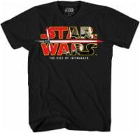 Disney Star Wars Boys' The Rise of Skywalker T-Shirt - Black