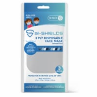 Al Shields 3 Ply Kids Disposable Face Mask -assorted