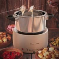 Classic Cuisine 82-KIT1031 Stainless Steel Fondue Pot Set - Dishwasher Safe - 1