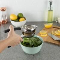 Handheld Lemon Orange Juice Squeezer Juicer Larger Press Tool Stainless Steel - 1 unit