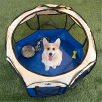 Petmaker 80-PET6082 Jump Pet Playpen with 3 Foam Rockets