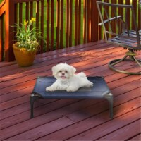 Petmaker 80-PET6083 Portable Raised Cot-Style Elevated Pet Bed, Blue - 1