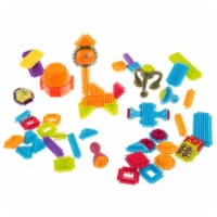Hey Play 80-YC1762408 Bristle Shape Building Blocks