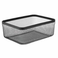mDesign Metal Wire Food Organizer Storage Bin, 4 Pack - 4