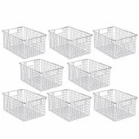 mDesign Metal Wire Storage Basket Bin for Closets - 4