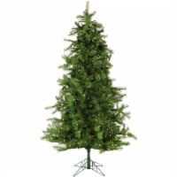 Christmas Time Artificial Christmas Tree with Clear LED String Lighting