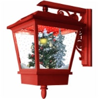 Fraser Hill Farm Wall-Mounted Musical Lantern - Red