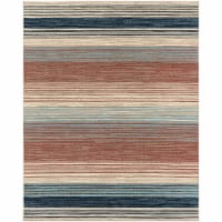 Hanover Indoor/Outdoor Striped Rug