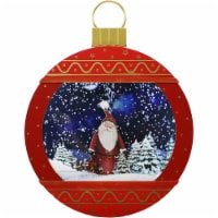 Fraser Hill Farm Christmas Ornament Shadowbox - Red