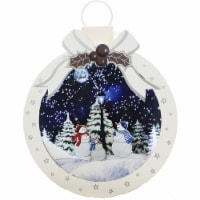 Fraser Hill Farm Let It Snow Christmas Ball Shadowbox