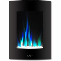 Cambridge Vertical Electric Fireplace - Black