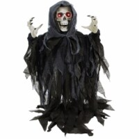 Haunted Hill Farm Animatronic Reaper Skeleton Halloween Decoration