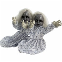 Haunted Hill Farm Animatronic Zombie Twins Halloween Decoration