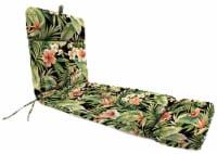 Jordan Manufacturing French Edge Chaise Chair Cushion - Cypress Midnight 22 x 72 in