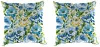 Jordan Manufacturing Toss Pillow - Lessandra Sunblue