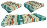 Jordan Manufacturing Wicker Settee Cushion Set - Bacall Sonoma