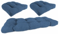 Jordan Manufacturing Wicker Settee Cushion Set - McHusk Capri