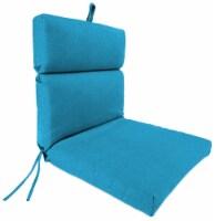 Jordan Manufacturing McHusk Hawaiian Outdoor French Edge Dining Chair Cushion - 1 ct