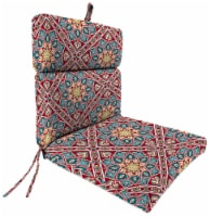 Jordan Manufacturing Medlo Sonoma Outdoor French Edge Dining Chair Cushion - 1 ct