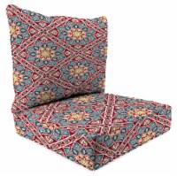 Jordan Manufacturing Medlo Sonoma Outdoor Deep Seat Chair Cushion - 2 pc