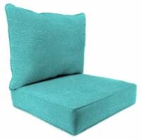 Jordan Manufacturing Tory Caribe Outdoor Deep Seat Chair Cushion - 2 pc