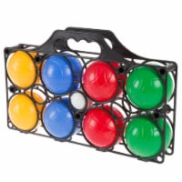 Beginner Bocce Ball Set in Case Outdoor Lawn Game for Kids Toddlers Backyard - 1 unit