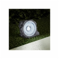 Pure Garden 50-LG1002 Solar Powered Rock Lights, 4.3 in. - Set of 4