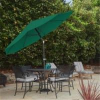 Pure Garden 50-LG1034 Patio Umbrella with Auto Tilt - Hunter Green - 10 ft.