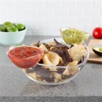 Classic Cuisine 82-KIT1096 Chip & Dip Bowls - 3 Piece - 1