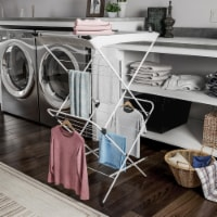 Clothes Drying Rack  2 Tiered Laundry Sorter with Rust Resistant Metal Frame and Nylon Mesh - 1 unit