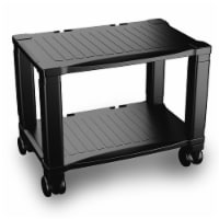 Printer Stand 2-Tier Under Desk Table for Fax, Scanner, Printer, Office Supplies-Compact and - 1 unit